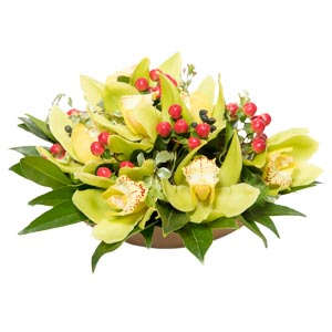Centrotavola con orchidee