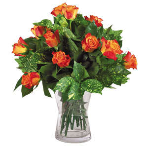 Bouquet rose arancio